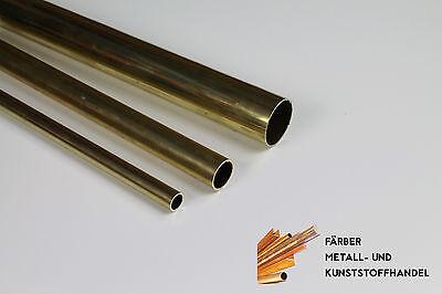 Messing Rundrohr Rohr  Durchmesser 52x1 mm /100mm Länge CuZn37 MS63