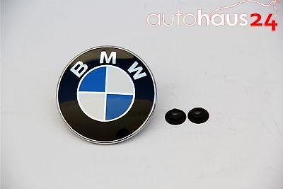 BMW 51 14 7 044 207 Z4 FRONT HOOD EMBLEM BADGE OEM 2003-2016 NEW GENUINE W/ NUTS
