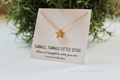 STAR necklace- Little girl necklace- Gift for little girl necklace- Star pendant - Little Girls Necklaces
