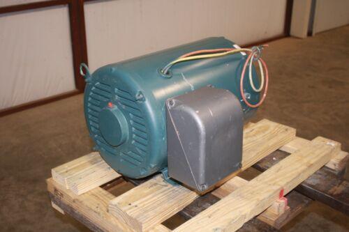 New Baldor 30 HP Rotary Phase Converter Motor