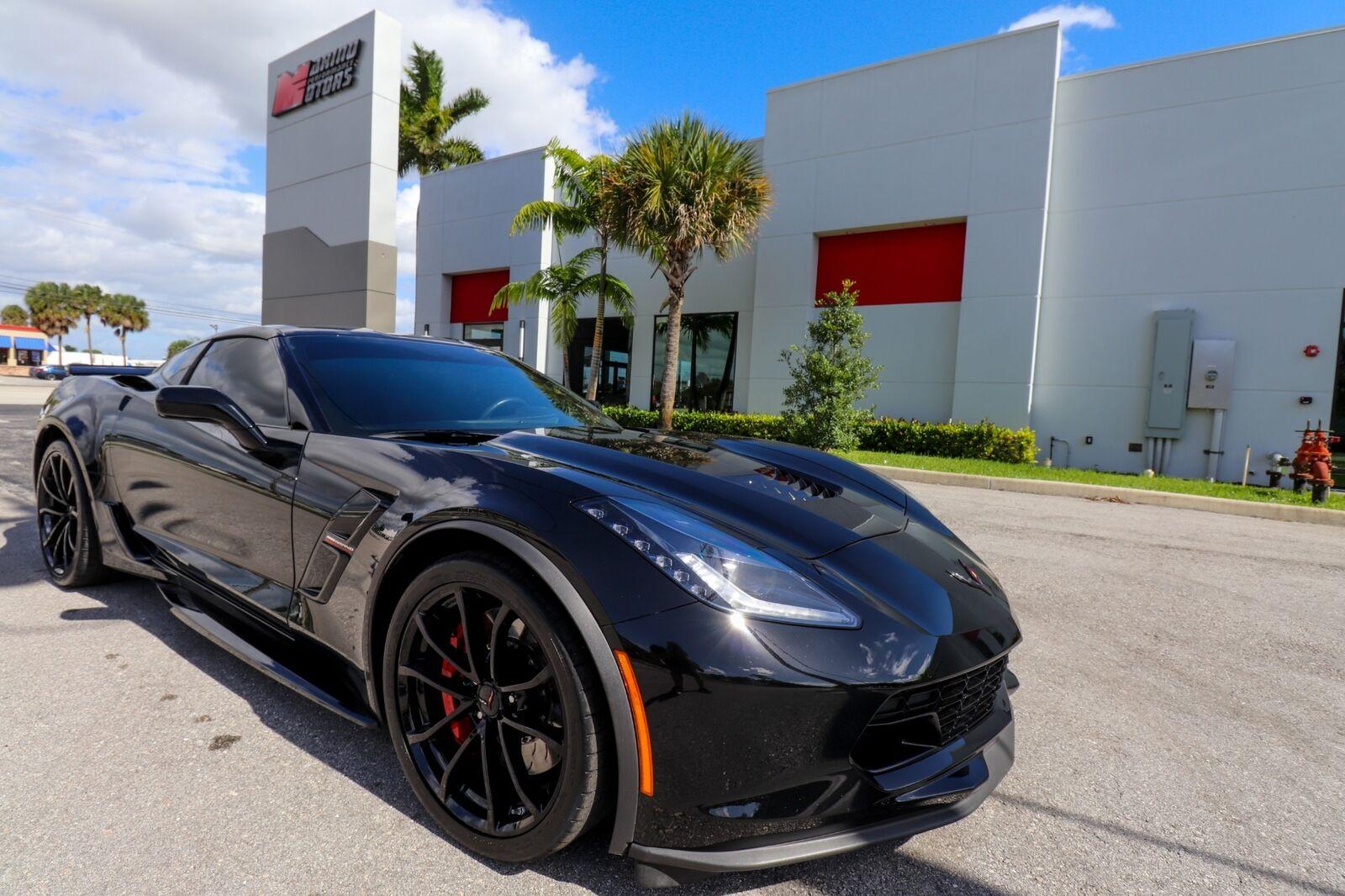 2018 Black Chevrolet Corvette Grand Sport    C7 Corvette Photo 1