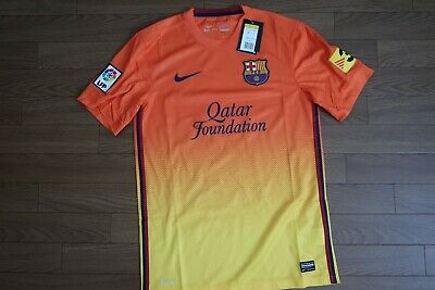 a43eabf87f2 FC Barcelona 100% Original Jersey Shirt S 2012/2013 Away Kit Stil BNWT  [2392]