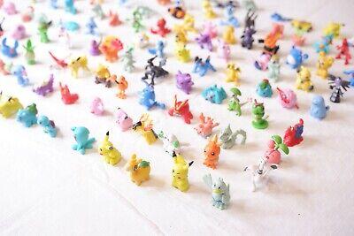 24-144Pcs Pokemon Pocket Mini 3cm Action Figures Kid Toy Birthday Christmas Gift
