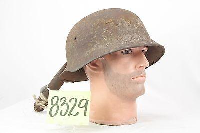 RARE WW2 GERMAN HELMET SHELL -- SIZE 70.