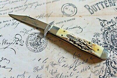 2005 Case XX USA 5 Dot Bone Stag Cheetah Cub Lock Back Knife 6.511 1/2 L SS