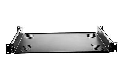 - 1 Space Metal Rack Mount Pullout Sliding Shelf Tray Fits 19