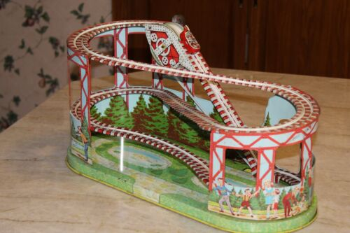 Chein Roller Coaster Very nice condition No cars are included