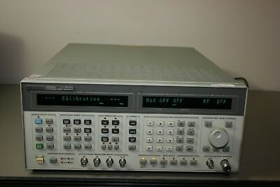 Hp Agilent 8664a Synthesized Generator Opt 001 008 Calibrated Warranty