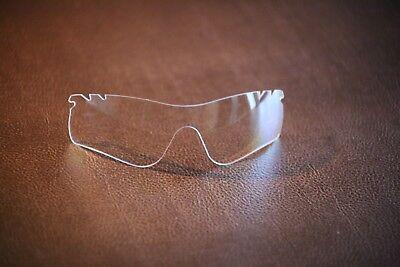 PolarLenz Clear / Transparent Replacement Lens for-Oakley RadarLock sunglasses