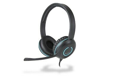 Cyber Acoustics AC-5002 Headset with Unidirectional Mic