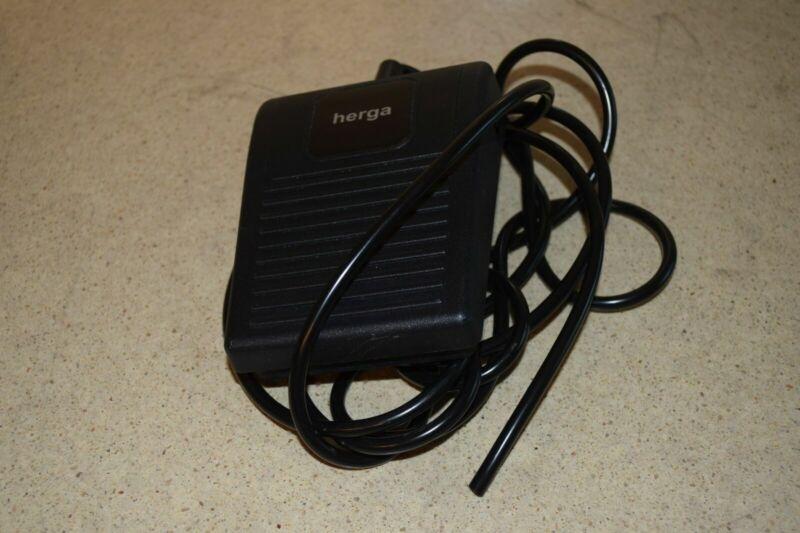 <WMH> HERGA 6210-0001 LIGHT DUTY AIR FOOT SWITCH PEDAL