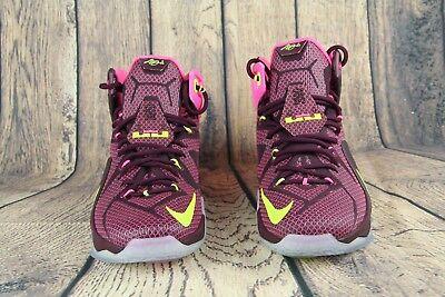 Nike Lebron 12 XII DOUBLE HELIX Mens Basketball Shoes 684593-607 Size 10.5 NEW