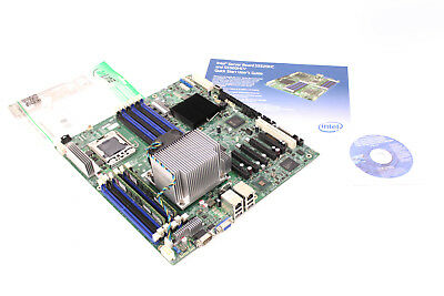 INTEL S5520HC Server Mainboard Intel Xeon E5506 Quad Core 2.13 GHz 4 GB Ram ()