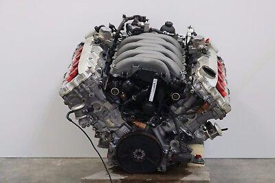 ✪ 2011 - 2012 AUDI A8L D4 ENGINE 4.2L ENGINE 105K MILES W/O OIL PAN OEM