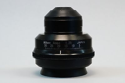 Nikon Abbe 1.25 Na Microscope Condenser