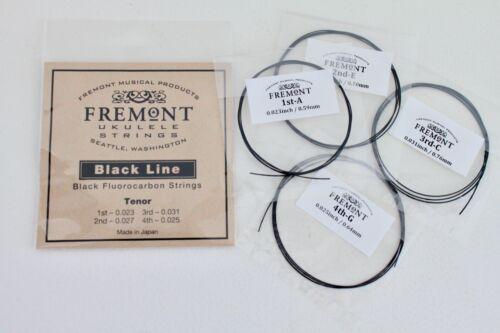 Fremont Blackline Fluorocarbon Ukulele Strings Tenor Set