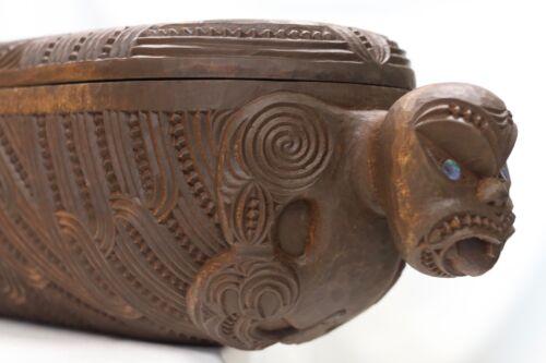Maori Wakahuia Treasure box