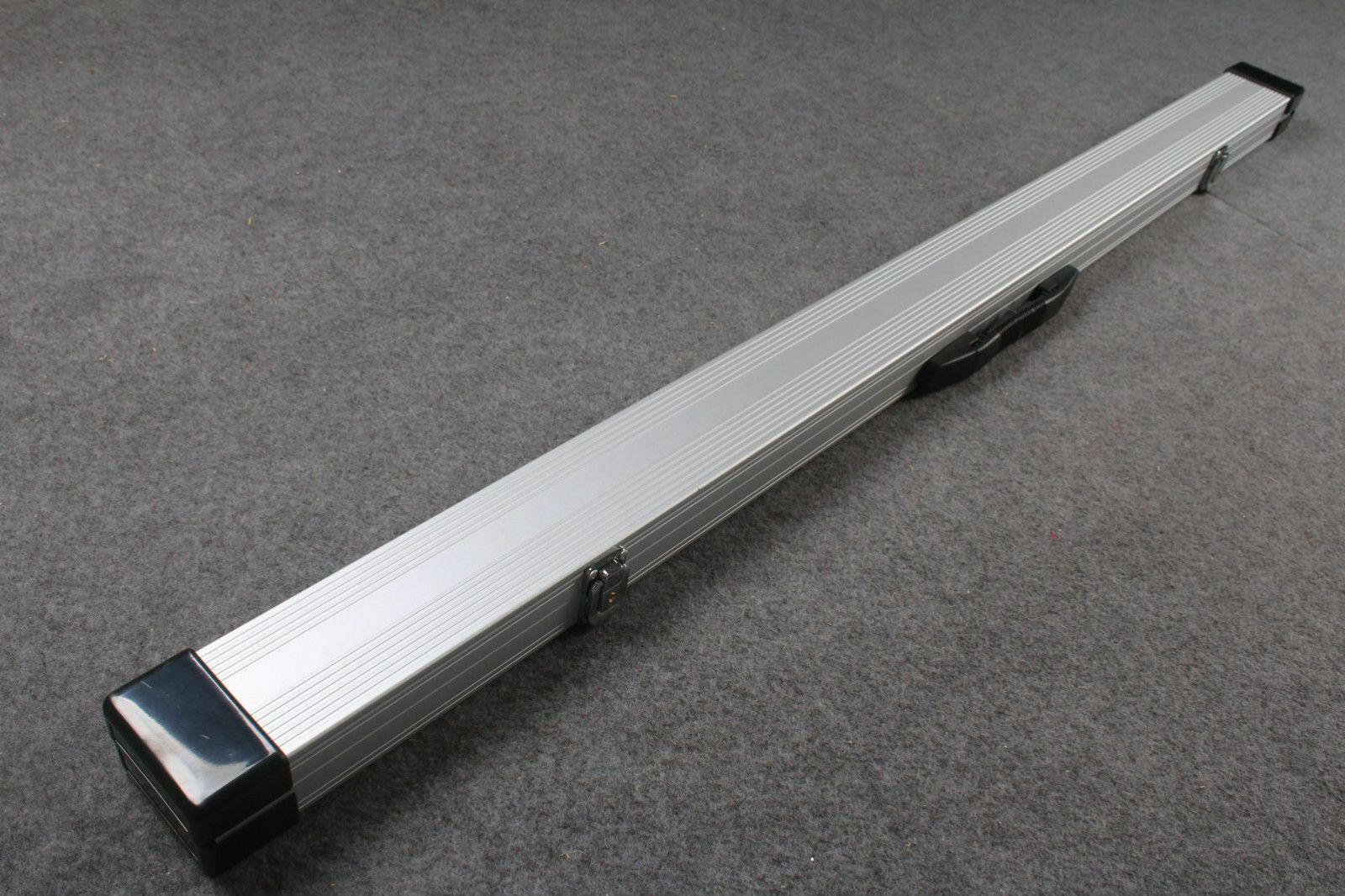 Brand New Silver Aluminium 3/4 Snooker Cue Case