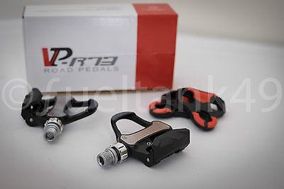 VP Components Look Keo Compatible Bicicleta De Carretera Pedales - VP-R73 Negro