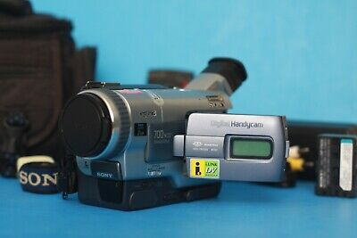 GREAT Sony Handycam DCR-TRV330 Digital8 Hi8 Camcorder Video Camera + Accessories for sale  Shipping to India