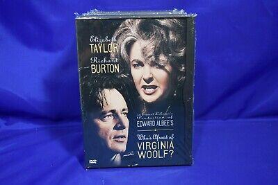 Whos Afraid of Virginia Woolf DVD, RESEALED