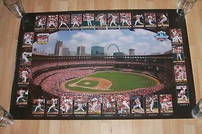 MLB St Louis Cardinals old Busch Stadium Final Season Poster 1966-2005 mint - Old Busch Stadium
