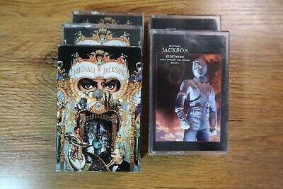 Michael Jackson Korean Cassette Releases: Dangerous / History (Book I)