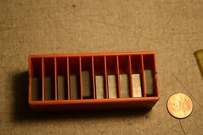 Carboloy Snmg643e48 883 Carbide Inserts Lot Of 10