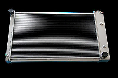 3 ROWS ALL ALUMINUM RADIATOR FIT 70 71 72 1981 PONTIAC Firebird 27 wide
