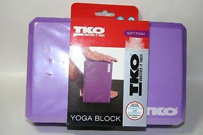 "Denise Austin FOREVER FIT Yoga Block 3/""x6/""x9/"" FOAM Stability BALANCE Flexibility"