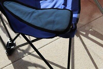 Dreibeinhocker/Klapphocker Camp4 Blau mit Tasche guter gebrauchter Zustand
