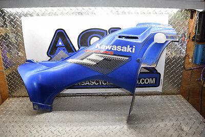 D3-7 RIGHT BLUE SIDE TANK COVER 07 Kawasaki Brute Force 750 KVF ATV 4X4 FREE SH