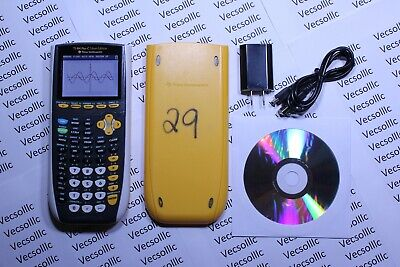 Texas Instruments TI-84 Plus C Silver Edition Graphing Calculator Color Screen