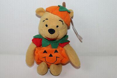 Disney Pumpkin Puuh Pooh Kürbis Halloween Stofftier Kuscheltier Schmusetier 20cm