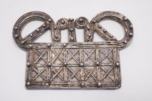 Hmong/Miao Spirit Lock Pendant/Amulet, Silver