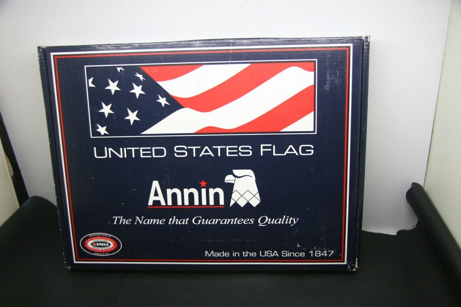 Annin UNITED STATE FLAG 3x5' ALL Weather NYL-GLO NYLON USA