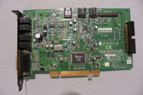 DIAMOND MONSTER SOUND MX300 A3D VORTEX AU8830A2 PCI SOUND CARD