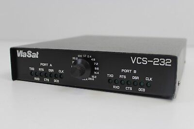 Viasat Vcs 232 Two Port 25 Pin D Sub Male 4 Position Channel Simulator