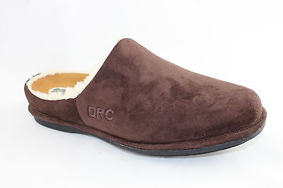 Dr Comfort Orthotic Orthotics Diabetic Slippers / Shoes Men's Brown, Half Foot