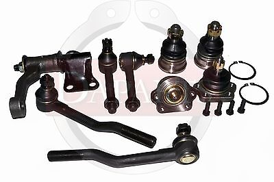Steering Parts Kit 2WD D21 Rack Ends Idler Arm Upper Lower Arms Ends Repair Set