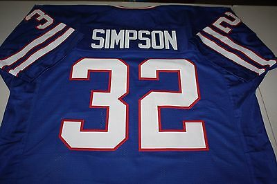 Oj Simpson  32 Rb Sewn Stitched Home Throwback Jersey Size Xlg The Juice