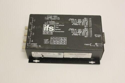 IFS GE VT7420 -2DRDT 4-Channel Digital Video  Transmitter