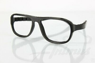 3D Printed Black Glasses Classic Design Style Modern Print Smooth Frame Retro PQ