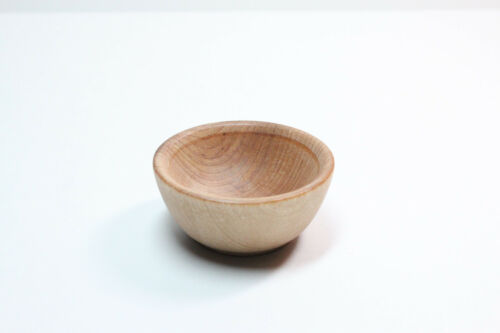 Tiny Cherry Spinning Bowl - Natural Wood Spinning, Children