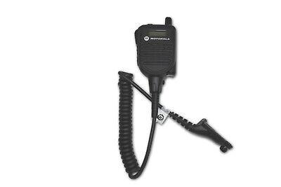 Motorola Hmn4104 Apx Speaker Mic - Apx1000 Apx6000 Apx7000 Apx8000