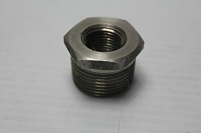 Camco 1 X 12 304 Stainless Steel Reducer Bushing Used