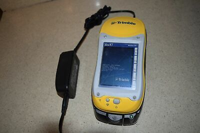 Trimble Geoxt 50950-20 Pocket Pc Handheld Data Collector W Charger 13