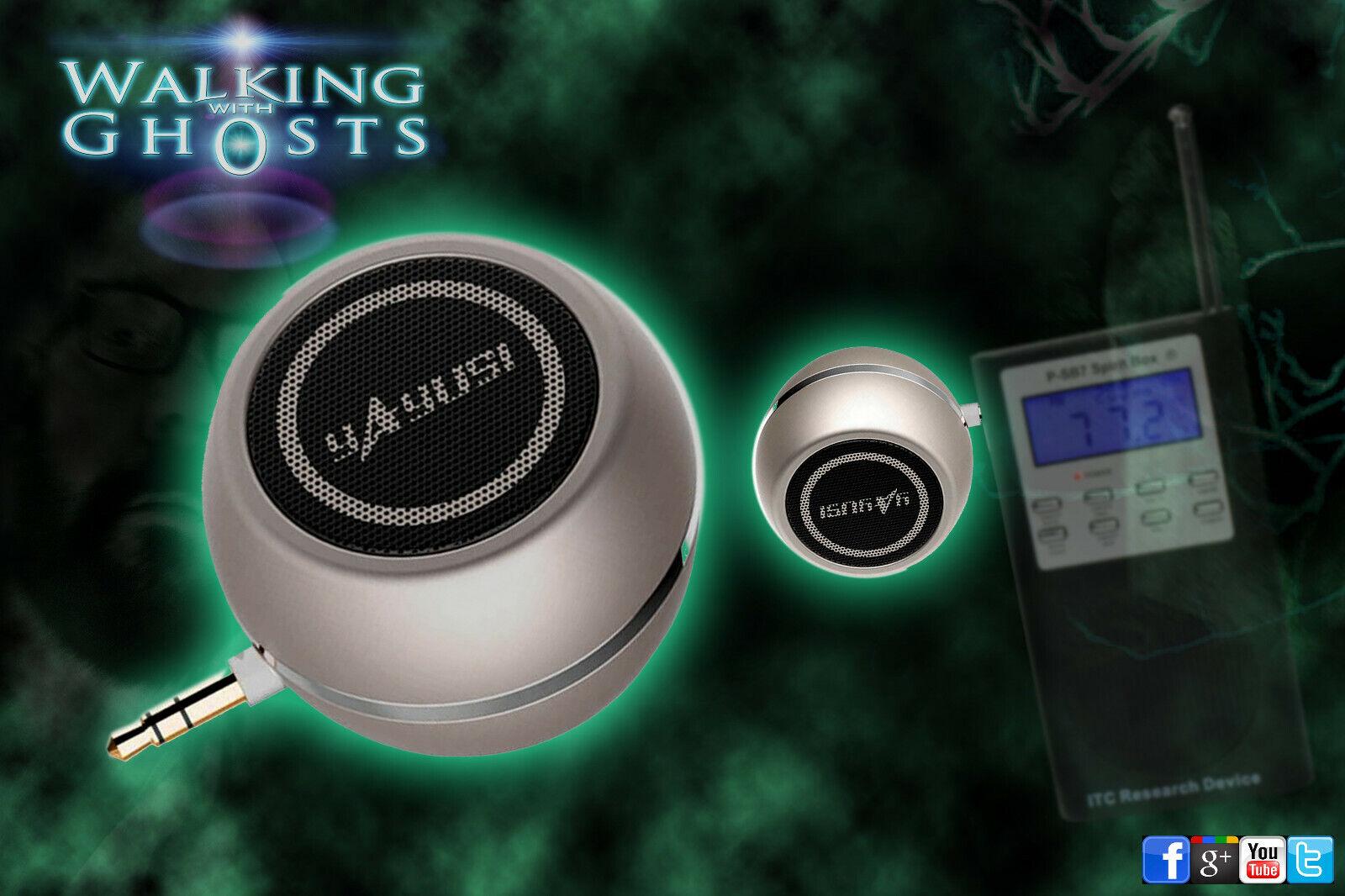 Mini Speaker 02 for Spirit Box PSB7 EVP MP3 Rechargeable USB Ghost Hunt