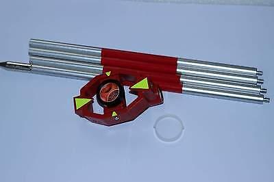 New Mini Prism W4 Poles Bag For Total Station 17.5mm Offset