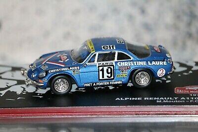 Renault Alpine A 110-50 blau-orange Maßstab 1:43 von bburago Street Fire